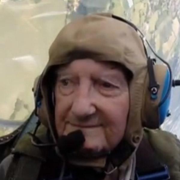 пилот,отвага, 91-летний пилот Второй мировой войны доказал, что его не стоит сбрасывать со счетов