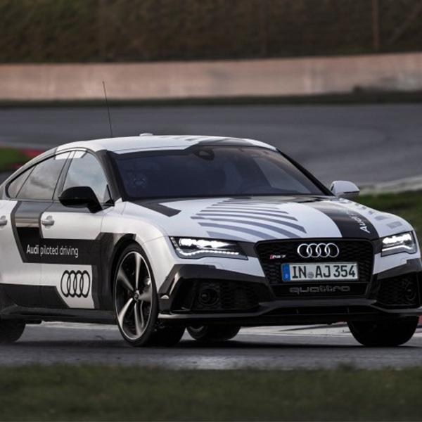 Audi,автомобиль,авто,беспилотник,автомобили, Беспилотная Audi RS 7 покоряет гоночную трассу