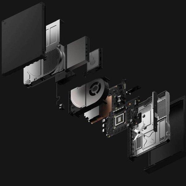 Microsoft,Xbox,игры, Выставка E3 2017: Microsoft представила игровую консоль Xbox One X