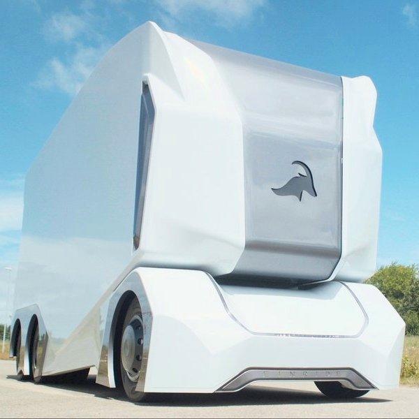 Tesla,автомобиль,беспилотник,дрон, Einride T-pod: грузовик, которому не нужен водитель