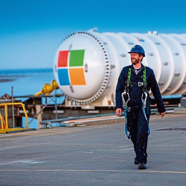 интернет, Microsoft поместила сервер на дно Северного моря