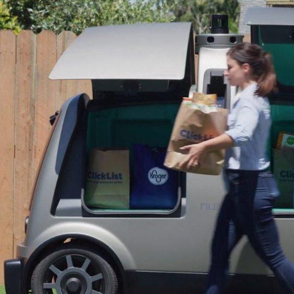 дрон, Беспилотные фургоны начнут доставлять продукты в Аризоне